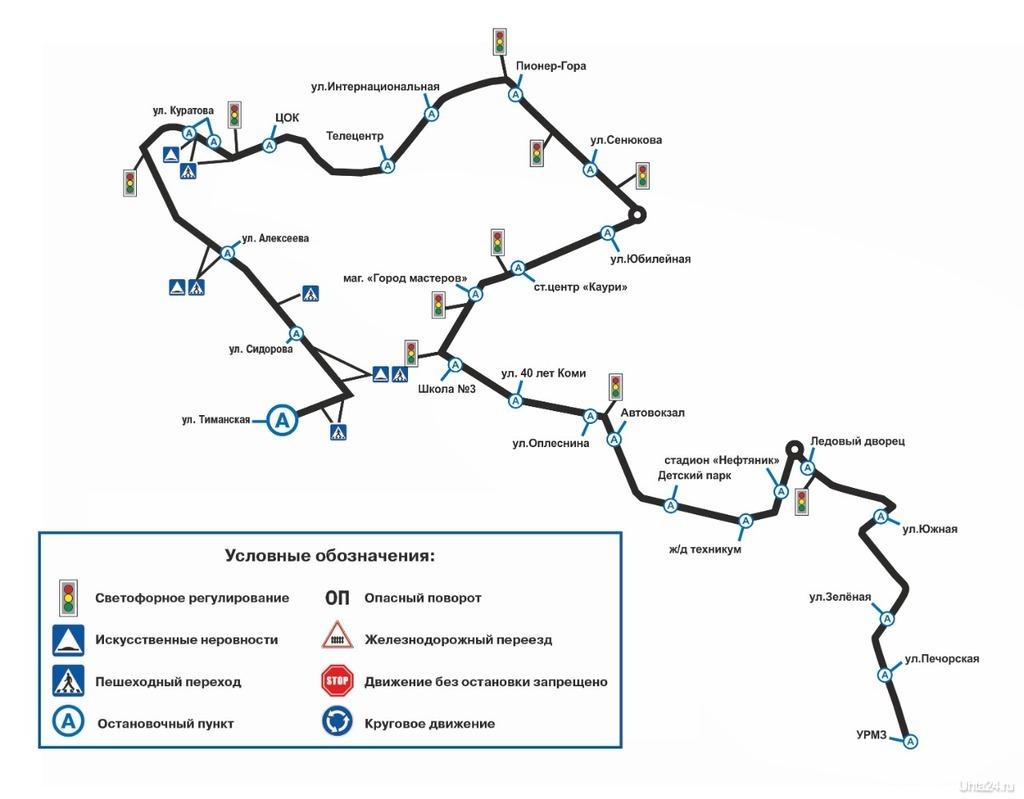 маршрут 11 Ухта