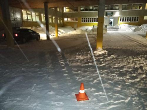 ДТП на территории школы