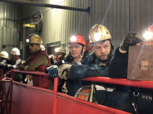шахтеры Яреганефть