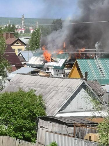 пожар УРМЗ